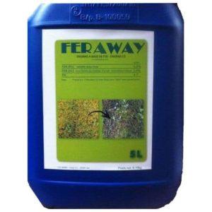 anti mousse gazon Feraway avec effet fortifiant