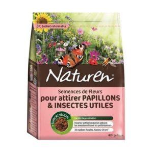 semences fleurs attirer papillons et insectes utiles