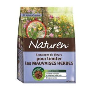 semences fleurs limiter mauvaises herbes