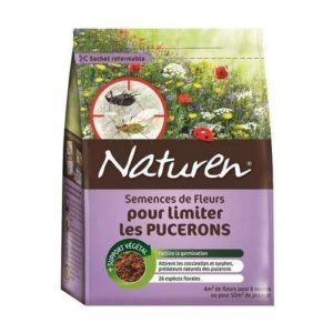 semences fleurs pour limiter pucerons