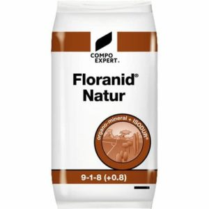 engrais gazon naturel floranid natur pour fertiliser les gazons tondu par robot tondeuse ou en mulching