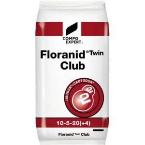 Floranid Twin Club engrais gazon pour fortifier le gazon en automne