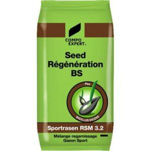 Semences gazon régénération Compo Seed