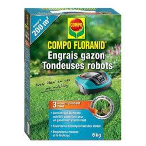 Engrais gazon robot tondeuse Compo Floranid
