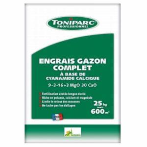engrais gazon cyanamide toniparc
