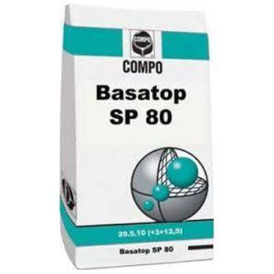 engrais gazon longue durée d'action Basatop SP80 de chez Compo