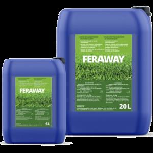 Feraway anti mousse gazon sans sulfate de fer