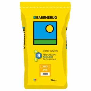 Semence gazon Barenbrug PRO SOS germination basse température pour regarnissage hivernal et rapidité d'installation.