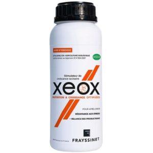 XEOX le seul stimulateur de croissance racinaire homologué, agit sur la protection des auxines et active le processus de lignification cellulaire, facteurs essentiels de la croissance racinaire.